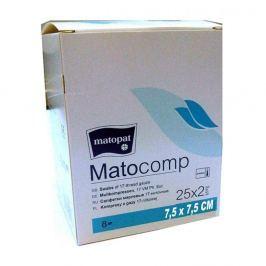 Matocomp 7.5x7.5cm 25x2ks sterilní komprese z gázy