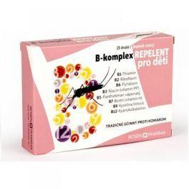 ROSENPHARMA B-komplex REPELENT pro děti 25 dražé