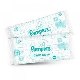 Pampers Baby Fresh Vlhčené ubrousky 2x64 ks