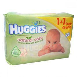 Huggies Natur Care Ubrousky 64 ks