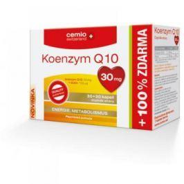 CEMIO Koenzym Q10 30 mg 30 + 30 kapslí ZDARMA