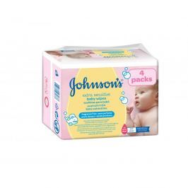 Johnson\\\'s Baby Extra Sensitive vlhčené ubrousky 224 kusů