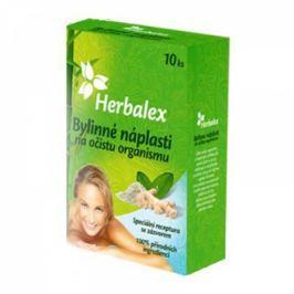 Herbalex bylinné detoxikační náplasti 10 ks + 40 % gratis