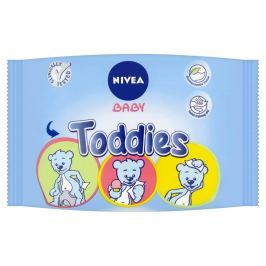 NIVEA Baby Multi ubrousky Toddies 60ks + NIVEA Creme 75 ml ZDARMA