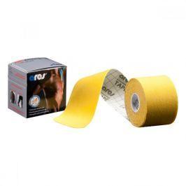 Kinezio tejp ARES kinesio tape 5cm x 5m žlutá