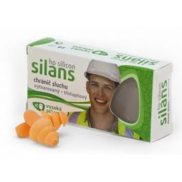 Chránič sluchu SILANS PROFI silicon vysoká ochrana + Objednávky expedujeme nejpozději druhý den + Při objednávce od 1000 Kč je doprava zdarma +