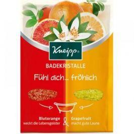KNEIPP® Sůl do koupele MIX červený pomeranč a grapefruit 80 g