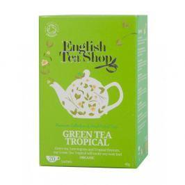 English Tea Shop Bio Zelený Čaj Tropické Ovoce 20s.