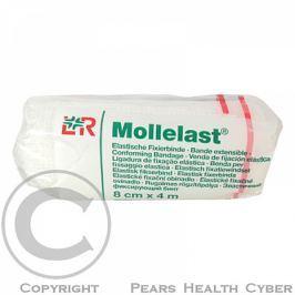 Obinadlo elastické fixační Mollelast 4cm x 4m 1ks