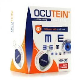 Ocutein Brillant lutein 25 mg DaVinci 120 tobolek + ubrousek na brýle.