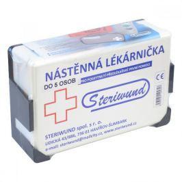 Lékárnička nástěnná plastová do 5 osob Steriwund