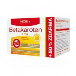 CEMIO Betakaroten 6 mg 80 + 40 kapslí ZDARMA
