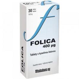 Vitabalans Folica 400 μg kyselina listová 30 tablet