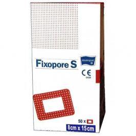 Fixopore S 8 x 15 cm á 50 ks. sterilní náplast