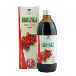 EkoMedica Brusinka 100% šťáva 500 ml