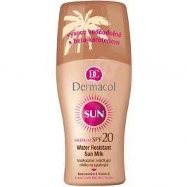 Dermacol Sun Milk voděodolné mléko na opalování SPF20 200 ml