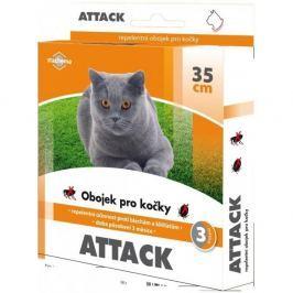 Attack Antiparazitární obojek 35cm kočka