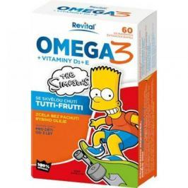 The Simpsons Omega 3 a vitaminy D a E cps.60