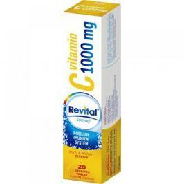 VITAR Revital C vitamin 1000 mg Citron šumivé tablety 20 ks