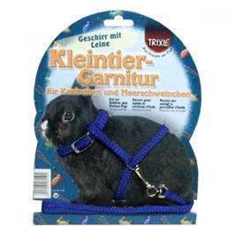 TRIXIE Postroj pro zakrslého králíka vodítko 8 mm/1,20 m
