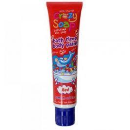 Crazy Soap Body Paint Red - mýdlo do koupele 150 ml