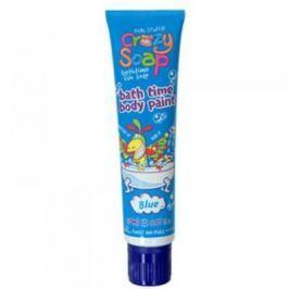 Crazy Soap Body Paint Blue - mýdlo do koupele 150 ml