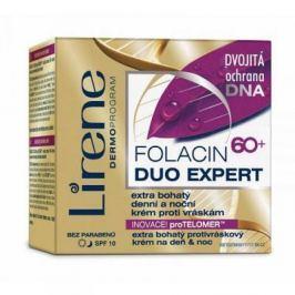 LIRENE Folacin 60+ Duo Expert Extra bohatý denní a noční krém proti vráskám 50 ml