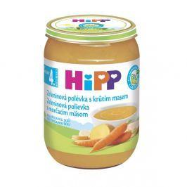 HIPP POLÉVKY BIO Zeleninová s krůtím 190 g