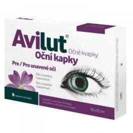 AVILUT Oční kapky 10x0.5 ml