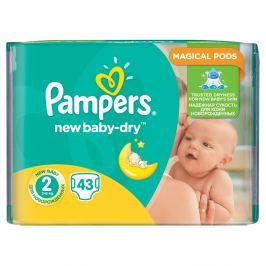 Pampers New Baby 2 Mini 43 kusů