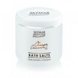 HRISTINA Přírodní koupelová sůl pomeranč & skořice 500 g