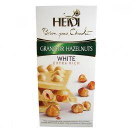 Čokoláda Heidi Grand´or bílá s karamelem, lískovými oříšky 100g