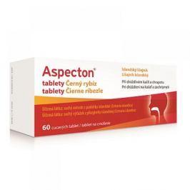 ASPECTON tablety na kašel černý rybíz 60 ks