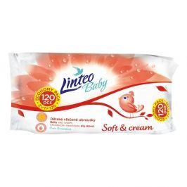 Linteo soft&cream vlhčené ubrousky 120 kusů