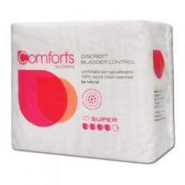 COMFORT BY COTTONS Inkontinenční vložky Super 10 kusů