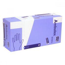 AMBULEX Nitryl rukavice nitrilové nepudrované M 100ks
