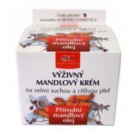 BC Bione Cosmetics Original Natural výživný mandlový krém velmi suchá a citlivá pleť 51 ml
