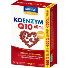VITAR Koenzym 60 mg + vitamin E a selen 30+30 kapslí