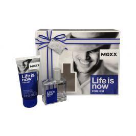 Kazeta Mexx Life is Now Man EDT 30 ml + sprchový gel 50ml