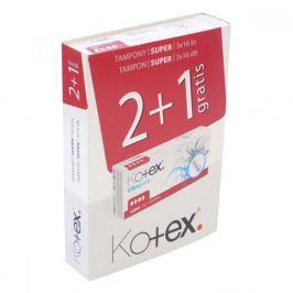 KOTEX Tampóny UltraSorb Super 3x16 ks