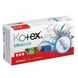 KOTEX Tampóny UltraSorb Normal 16 ks