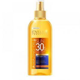 EVELINE Amazing Oils Opalovací olej SPF 30 150 ml