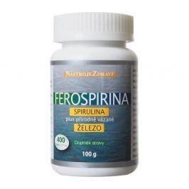 FEROSPIRINA Spirulina plus přírodně vázané železo 400 tablet