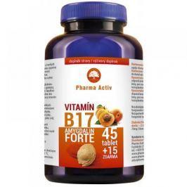 Pharma Activ Czech Vitamín B17 Forte Amygdalin 45 + 15 tablet Zdarma