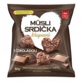 Semix Müsli srdíčka křupavá s čokoládou 150 g