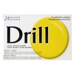 DRILL CITRON - MENTOL 24 pastilek rozpustných v ústech