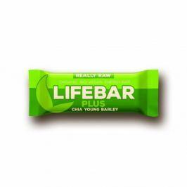 Lifebar Plus chia semínka a mladý ječmen BIO 47g