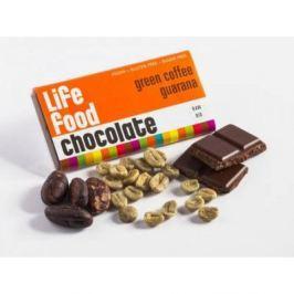 Lifefood MINI čokoládka se zelenou kávou a guaranou BIO 15g