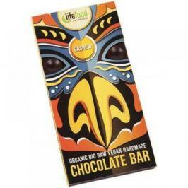 LIFEFOOD Chocolate BIO s kousky kešu ořechy 70 g