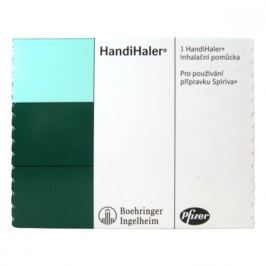 HandiHaler pomůcka k inhalaci prášku